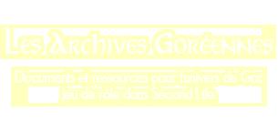 Les Archives Goréennes de Psychee